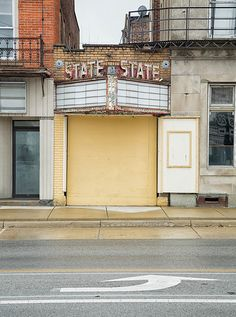 State Theater, Bellevue, OH, September, 2012