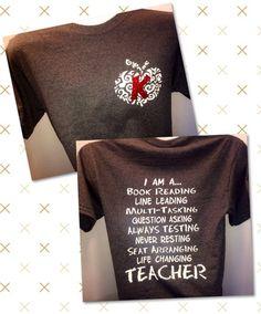 I Am A Teacher, $17.50