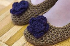 Spring Slippers....free pattern