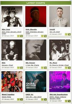 Revival Marketing PR: DJ Charts on Juno Download @junodownload