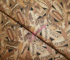 Bavlněná látka Korkové špunty Bordeaux, Alexander Mcqueen Scarf, Vintage, Pattern, Bags, Accessories, Scrappy Quilts, Handbags, Bordeaux Wine