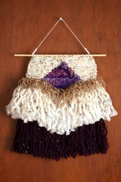 """Oh, Suzanna"", woven wallhanging by Sally C Garner / Loops And Stone"