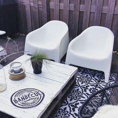 #tuinstoel#ikea#tuinkleed#zwartwitwonen#bbq#kommaaropmetdiezomer