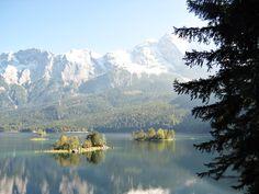 Eibsee bei Garmisch (sehr leicht, 2:00h)   Leichte Wanderungen