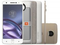 Smartphone Motorola Moto Z Power & Sound Edition - 64GB Branco e Dourado Dual Chip 4G Câm. 13MP de R$ 3.899,00 por R$ 3.499,90