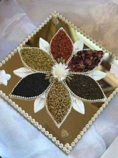 Can make this for the 7colors of Espand. Size 12x12 Sunflower Wedding Decorations, Fruit Decorations, Thali Decoration Ideas, Birthday Party Desserts, Arab Wedding, Fruit Gifts, Persian Wedding, Marriage Decoration, Wedding Plates