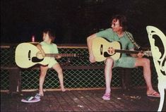 Sean Lennon and John Lennon (always have the cutest pictures)