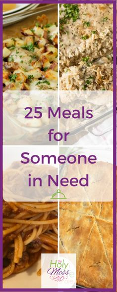 25 Meals for Someone