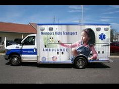 Remounted Ambulance Delivery by VCI to Dupont Childrens Hospital 2015 Fo...
