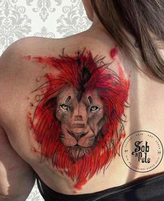 #lion #art #tattoo -- 50 Powerful Lion Tattoo Ideas to Enhance Your Personality
