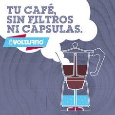 Las cafeteras Volturno poseen un sistema amigable con el medio ambiente. No solo consumís menos café y éste sabe mejor, sino que además no usas filtros descartables ni cápsulas. Con Volturno le haces un favor a la naturaleza y a tu bolsillo!