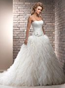 Bristol - by Maggie Sottero, I love the drop waist on this... not sure how I feel about the skirt.