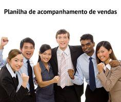 Planilha de acompanhamento de vendas