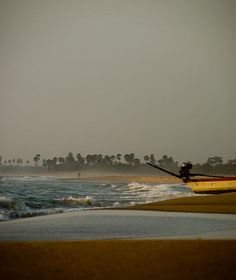 The coast of Tranquebar India