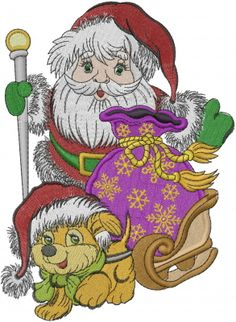 Irresistible Embroidery Patterns, Designs and Ideas. Awe Inspiring Irresistible Embroidery Patterns, Designs and Ideas. Best Embroidery Machine, Free Machine Embroidery Designs, Hand Embroidery, Cross Stitch Fabric, Christmas Embroidery, Design Tutorials, Santa, Heavenly, Christmas Cards