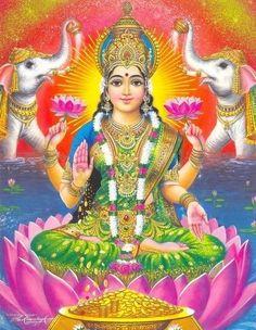 Mahalakshmi - Goddess of Wealth