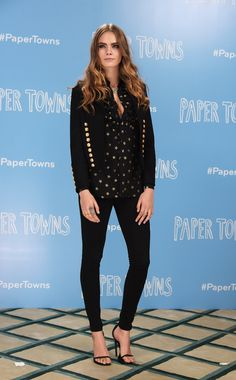 Cara Delevingne Paper Towns Press Tour Outifts | Teen Vogue