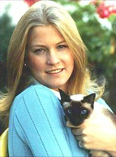 Shan, a Siamese, was the Ford family cat.