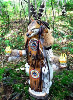 Coyote Manitou (Spirit or Totem). $945.00, via Etsy.If I EVER have this money.. I am in love!
