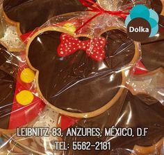#Minniemouse nos visita en #Dolka Prueba esta deliciosa #galleta #Polanco
