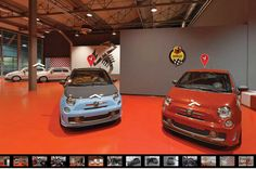Fiat's hot hatch studio becomes the first European factory to let visitors in through Google Street View.