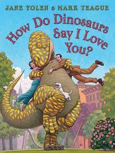 """@Overstock - Parents and children can never have enough ways to say """"I love you""""--and now, America's favorite dinosaurs are giving families a funny book, perfect for bedtime, storytime, anytime. Even when little d...http://www.overstock.com/Books-Movies-Music-Games/How-Do-Dinosaurs-Say-I-Love-You-Hardcover/3925357/product.html?CID=214117 $12.52"""