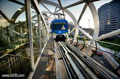 Beatrixkwartier Randstadrail in Netherlands - A new light urban rail station for the Randstadrail network. http://mhllt.com/beatrixkwartier-randstadrail/  #Beatrixkwartier #TheHague #Netherlands #ZwartsJansmaArchitecten #Architecture #Design #Interior #Exterior #Furniture #Train #Station #Randstadrail #mhllt