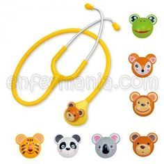 Fonendoscopio pediatrico animales Instrumental, Medicine, Headphones, Electronics, Animales, Bebe, Headpieces, Ear Phones, Medical