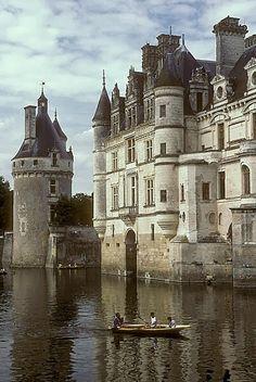 Chateau de Chenonceau, France.