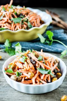 Carrot Tahini Salad
