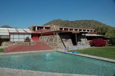 Taliesin West - Frank Lloyd Wright - Right near where I used to live in northeast Scottsdale near McDowell Mtn