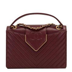 b4c15877751f Chanel Paris In Rome Burgundy Sheepskin Flap Bag  CHANEL  ShoulderBag Chanel  Box
