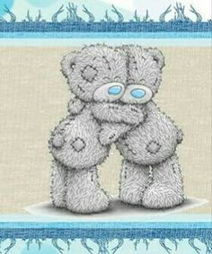 <3 Tatty Teddy <3 Teddy Bear Images, Teddy Bear Pictures, Tatty Teddy, Pochacco, Blue Nose Friends, Bear Graphic, Bear Illustration, Love Bear, Art N Craft