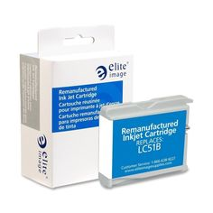 Elite Image Remanufactured Inkjet Cartridge Alternative For Brother LC51BK - 1 Each