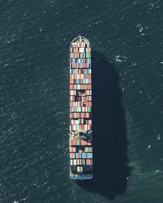 4 | Amazing Aerial Photos Show The Enormous Cargo Traffic Jam At The Nation's Biggest Port | Co.Exist | ideas + impact