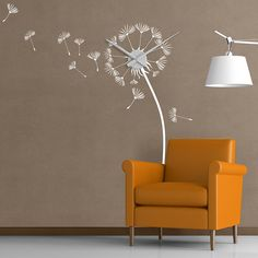 Check out what's on sale at TouchOfModern  Mantiburi Wall Clock ~ Dandelion   Very cute and whimsical