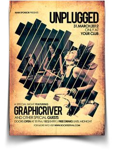 Unplugged Flyer / Poster