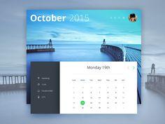 Hey guys, Here is another Calendar widget, what version do you prefer? Calendar v1 Calendar v2