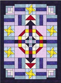 I want to spread the word about this free quilt pattern. It's great for beginners and those wanting to get started in quilting.