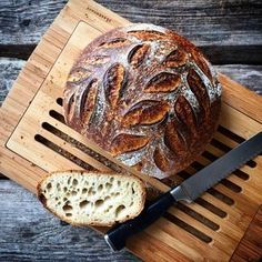 Czech Recipes, Bread And Pastries, Sourdough Bread, Bread Baking, Bread Recipes, Ham, Cooker, Food And Drink, Homemade