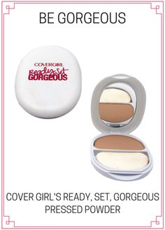 Cover Girl Be Gorgeous Pressed Powder Foundation Makeup