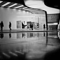 Evanescent symmetries, via Flickr.(MAXXI Museum, Zaha Hadid)