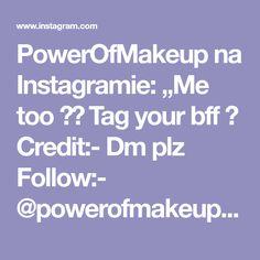 "PowerOfMakeup na Instagramie: ""Me too 😅😅 Tag your bff 👯 Credit:- Dm plz Follow:- @powerofmakeuppom • • • • • #eyebrows #eyebrowshaping @hudabeauty @hudabeautyshop…"""