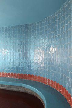 Wal tiles at Dar HI by MATALI CRASSET.