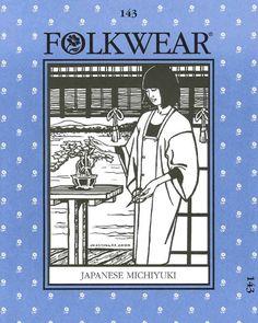 Patterns - Folkwear #143 Japanese Michiyuki