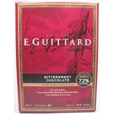 E. Guittard 72% Cacao Bittersweet Chocolate Wafers -- You can find out more details at the link of the image.