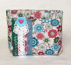 hand made cosmetic bag