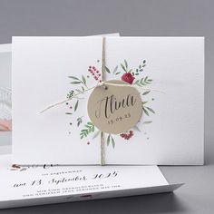 Unsere Babykarte Alina - verschickt Liebe und schöne Geburtskarten