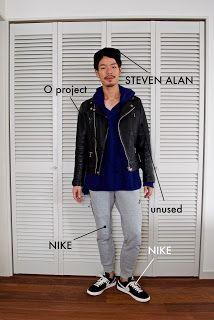 Y's Wardrobe: 【O project unused NIKE】ワンマイルウェアで出かけよう!重要なのはパンツのサイズ...