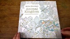 Back Again With Another Colouring Book Walkthrough This Time Well Look At Millie Marottas Fabulous Animal Kingdom